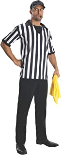 Rubie's Costume Heroes And Hombres Adult Referee Shirt And Hat