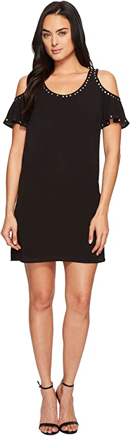 MICHAEL Michael Kors - Cold Shoulder Tank Dress