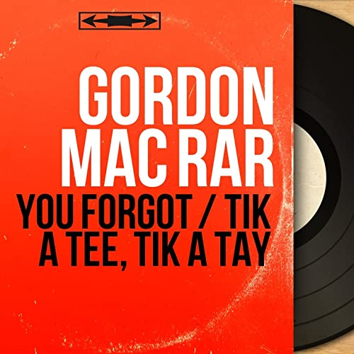 You Forgot (feat. Van Alexander and His Orchestra) de Gordon ...