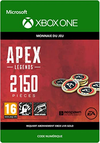 APEX Legends: 2150 Coins | Xbox One - Code jeu à télécharger
