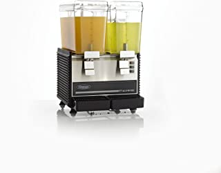 Omega Juicers Omega OSD20 Commercial 1/3-Horsepower Drink Dispenser with 2 3-Gallon Containers (Discontinued by), 16 by 17 by 24 inches, Black
