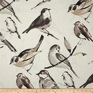 Richloom Fabrics Richloom Birdwatcher Charcoal