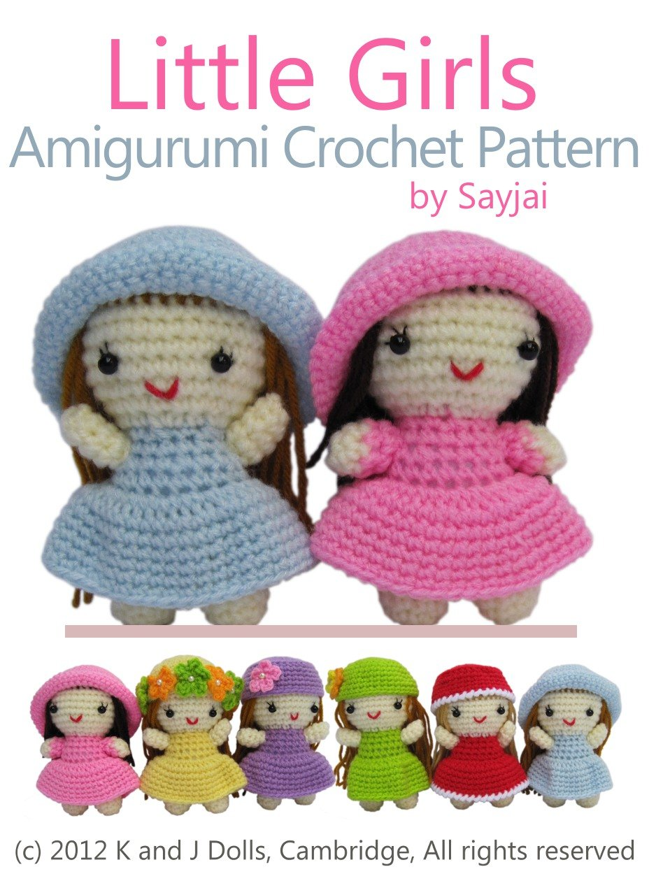 Crochet Amigurumi Doll CAL Ep4 - Dress - YouTube | 1250x938