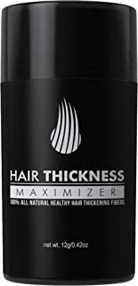 Hair Thickness Maximizer 2.0 – Safer Than Keratin Hair Building Fibers with 2nd Gen..