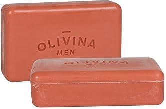product image for Olivina Men Bourbon Cedar Exfoliating Bar Soap - 2 Pack
