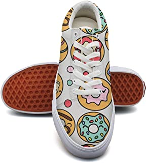 Women'slove Koala Bear Stickers Canvas Shoes Low-Cut Straps Comfortable Round Sneakers Suitable for Walking