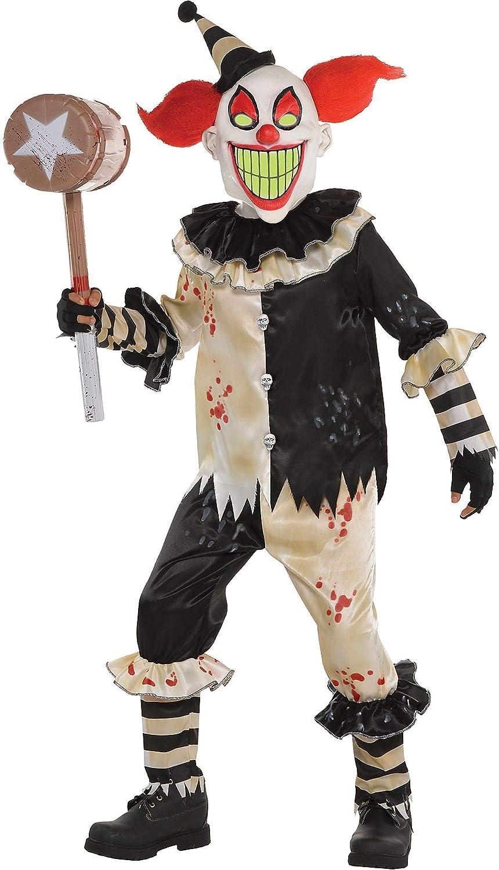 Amscan Carnival Nightmare Clown Costume - Medium (8-10)