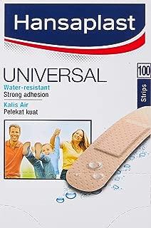 Hansaplast Universal Plastic Plasters - 100 Strips