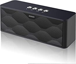 [Upgraded] Wireless Bluetooth Speakers, EWANTIC S9 12W Portable Speakers with The Most Advanced V5.0+EDR Tech, 300ft Wireless Range, Play Two Together for Music in Awesome Dual Stereo