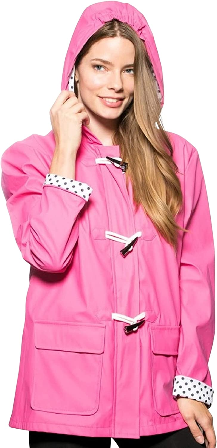 Ladies' 70% OFF Outlet New Shipping Free Shipping Toggle Jacket Rain