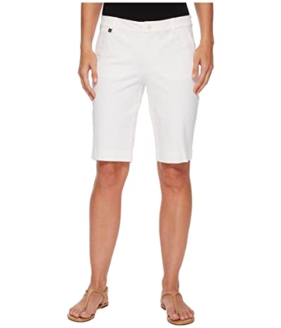 LAUREN Ralph Lauren Stretch Cotton Shorts (White) Women