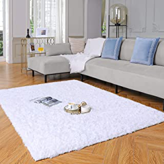 Yome Machine Washable Area Rug, Fuzzy Soft Carpet with...