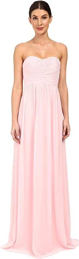 Strapless Chiffon Gown - Stephanie