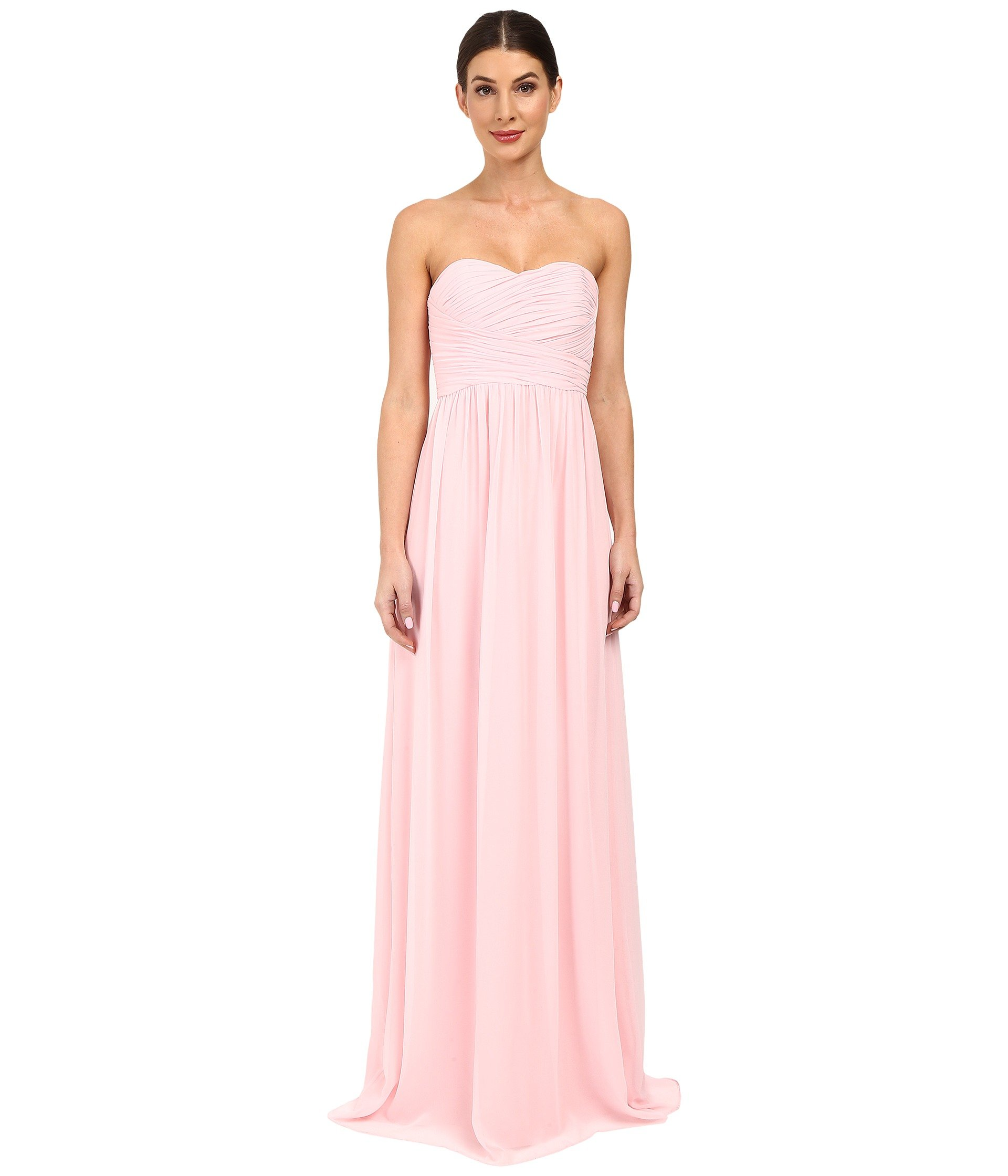 Strapless Chiffon Gown - Stephanie