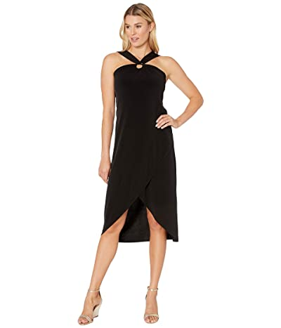 Tommy Bahama Carmela Halter Maxi Dress (Black) Women