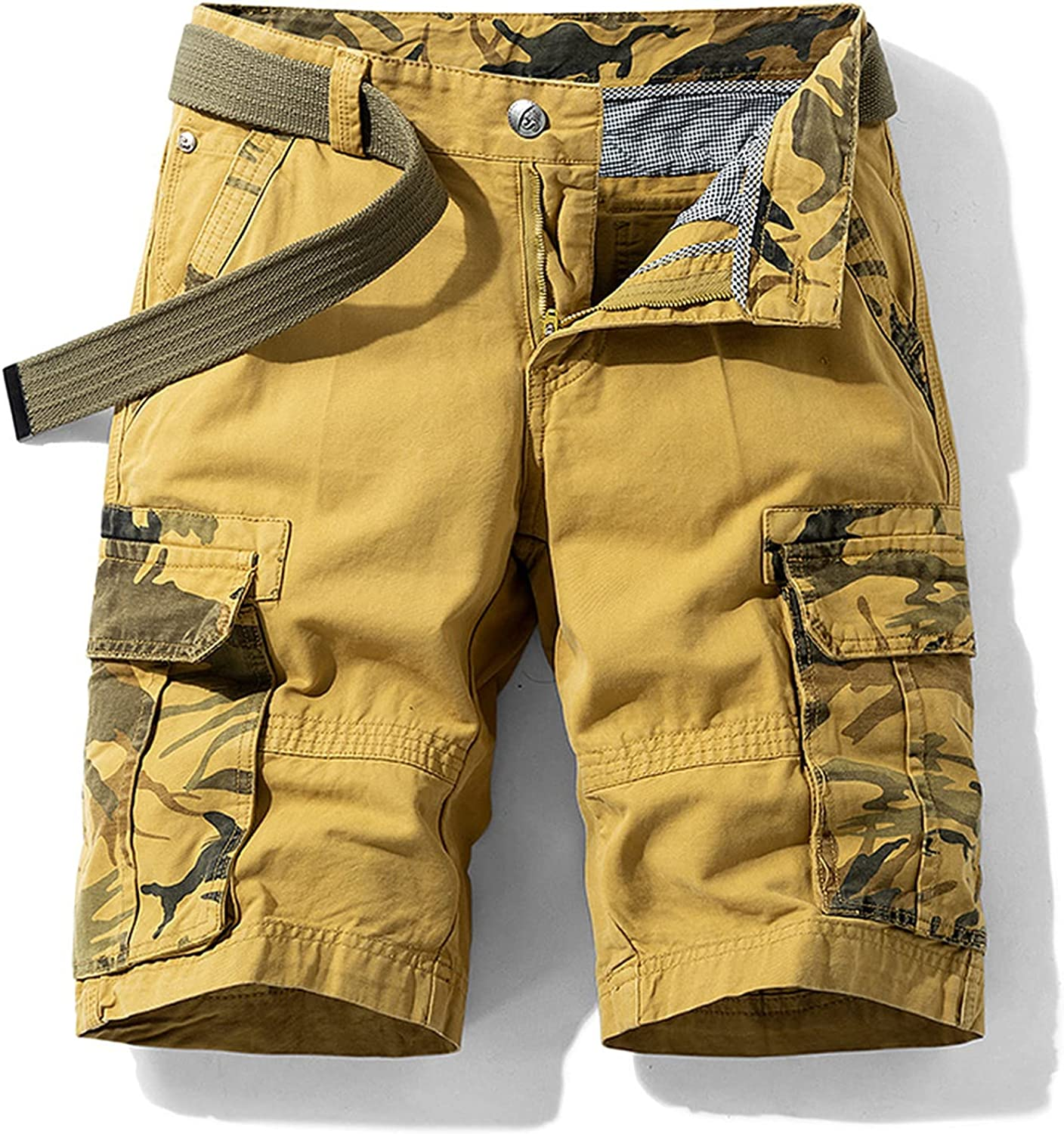 Zutty Summer Jogger Cargo Shorts Men Army Green Camouflage Tactical Military Big Size Casual Loose