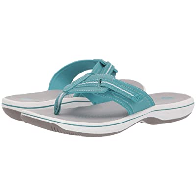 Clarks Brinkley Jazz (Aqua Synthetic 1) Women