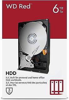 WD Red - Disco duro para NAS, 6 TB (el paquete puede variar)