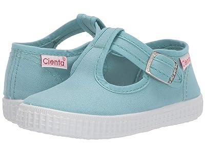 Cienta Kids Shoes 51000 (Infant/Toddler/Little Kid/Big Kid) (Mint) Girl