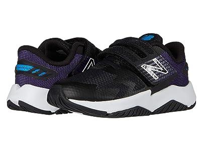 New Balance Kids Rave Run v1 (Infant/Toddler) (Black/Wild Indigo) Girls Shoes