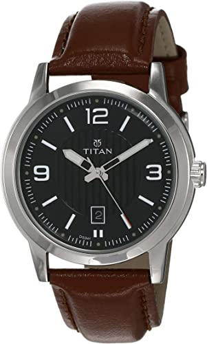 Titan Neo Analog Black Dial Men s Watch NK1730SL02