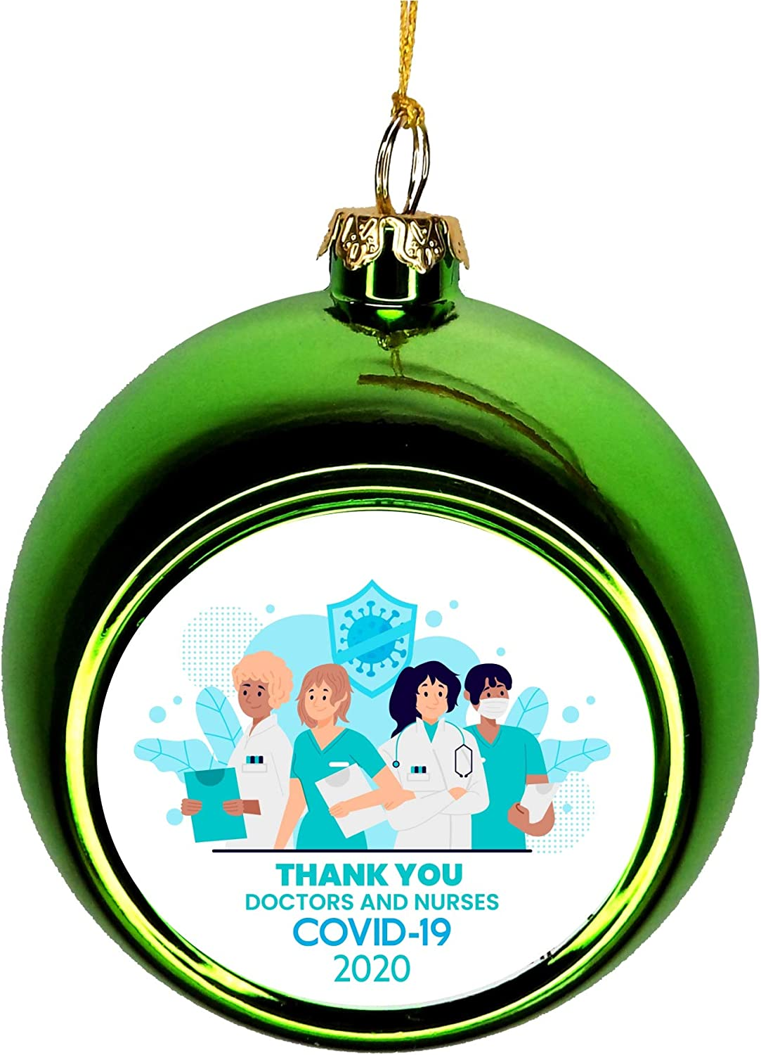Thank low-pricing Las Vegas Mall You Ornaments Workers Appreciation Healthcare