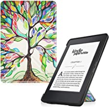 Fintie Origami Case for Kindle Paperwhite - Fits All Paperwhite Generations Prior to 2018 (Not Fit All-New Paperwhite 10th Gen), Love Tree