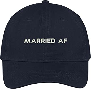 Married AF Embroidered Cap Premium Cotton Dad Hat