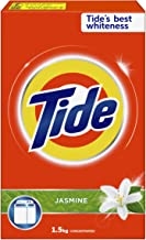Tide Laundry Powder Detergent Jasmine Scent 1.5 kg, Pack of 1