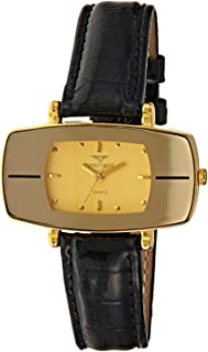 Spectrum Women' s Two Tone Leather Band Watch - 93552LL-5