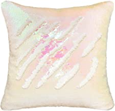 Play Tailor Mermaid Sequin Pillow Case Flip Sequin Pillow Cover Iridescent Sequins Throw Cushion Cover 16