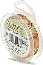 Beadalon Artistic, 24 Gauge, Bare Copper, 20 yd (18.3 m) Craft Wire