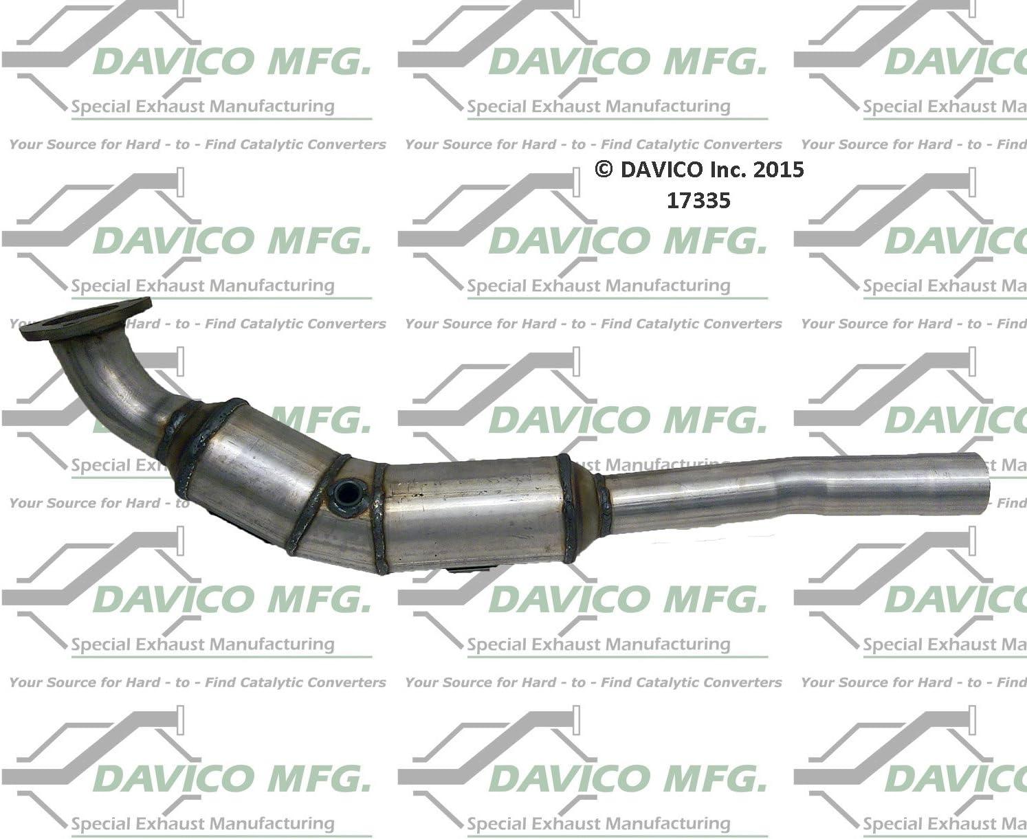 Davico Store 17335 Mesa Mall Catalytic Pack Converter 1