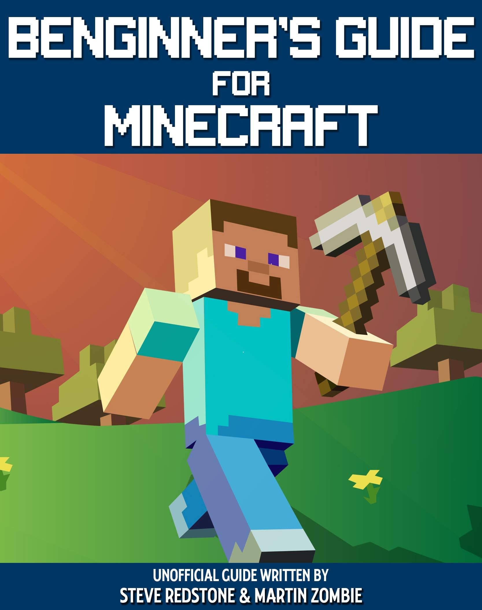 Image OfBeginner's Guide For Minecraft: Unofficial Guide To Building, Exploration, Survival And Crafting. A Minecraft Book With Ea...