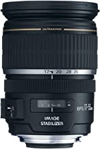 Canon EF-S 17-55mm f/2.8 IS USM Lens for Canon DSLR Cameras (Renewed)