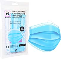 100 mascherine chirurgiche Dispositivo Medico di classe II R CERTIFICATE CE ogni mascherina è racchiusa in confezioni...