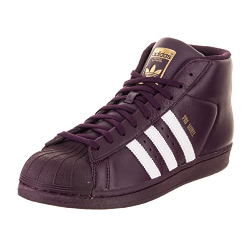 new product a5011 d9b13 adidas Men s Pro Model, White Super Purple Gold Metallic, ...