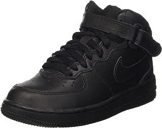 Nike Australia Boys Force 1 Mid (PS) Fashion Shoes, Black/Black