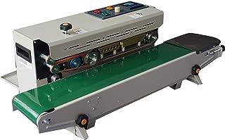 690W Automatic Conveyor Aluminum Induction Foil Sealing Machine,Heat Sealing Machine Impulse Sealer Seal Packing Plastic Bag Kit Vacuum Resealer Drop Shipping
