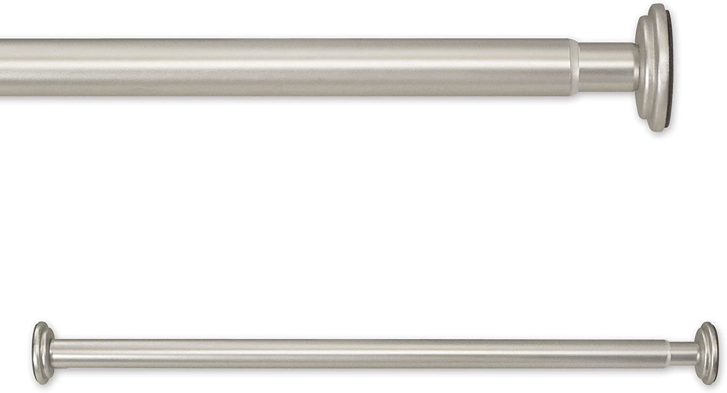 Source Global 30 to 52-Inch in Tension Rods, Pewter