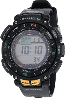 Casio - De los hombres Pro Trek Digital Deporte Solar Reloj (Modelo de Asia) PRG-240-1D