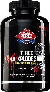 T-REX NO-Xplode 3000 - Pre-Workout Booster - ingredientes activos altamente dosificados - 100 cáps.