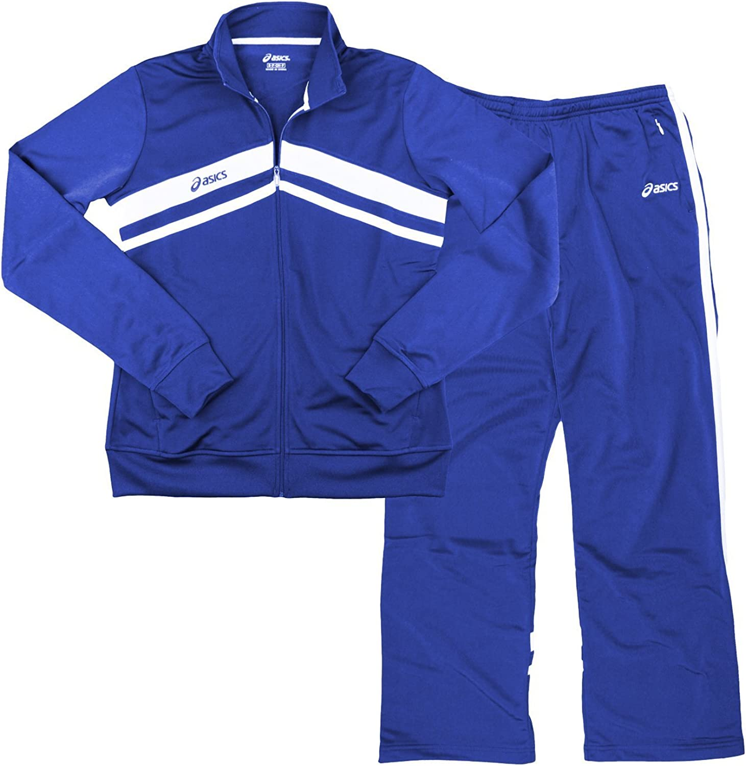 ASICS Women's Cabrillo Pants and Seattle Mall Set Lowest price challenge Royal Jacket Blue