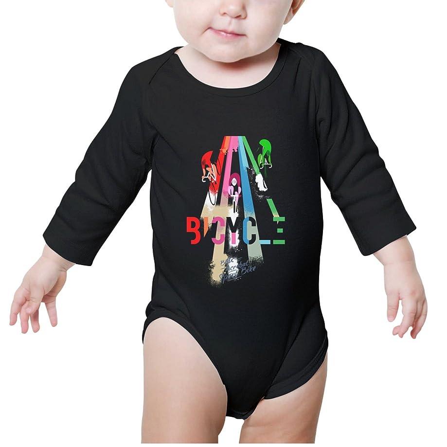 Xanx Smon Boys Girls Baby Onesies BMX Sport Bike Trick Newborn Baby Bodysuit Organic Clothes