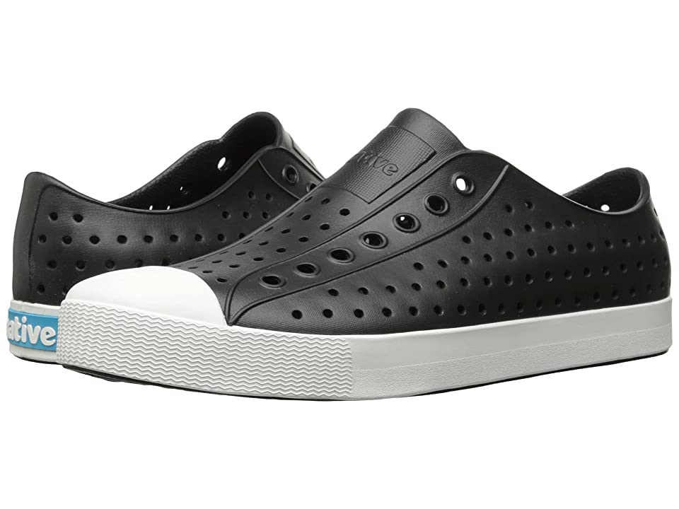 Native Shoes Jefferson (Jiffy Black/Shell White) Shoes