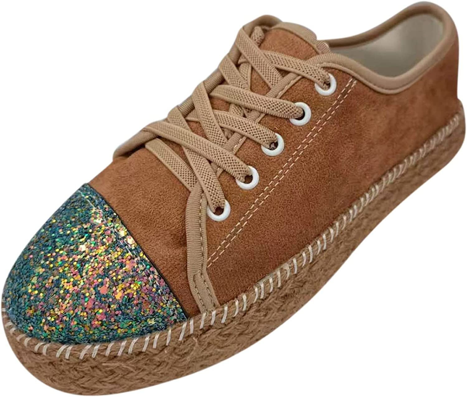 Women's Walking Shoes Womens' Low Tops Canvas Sneakers Shoes,Black/Optical White Multicoloured