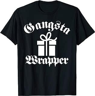 Gangsta Wrapper Funny Christmas Pajama PJ's Style Shirt T-Shirt