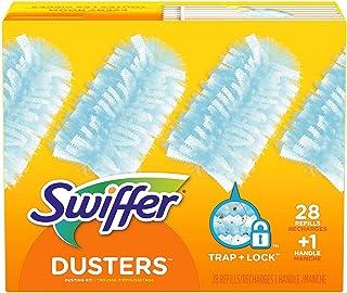 Swiffer Dusters Dusting Kit, Starter Kit 1 Handle & 24 Duster Swiffer Refills
