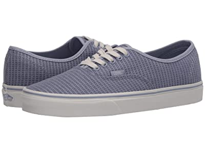 Vans Authentictm ((Multi Woven) Zen Blue/Snow White) Skate Shoes