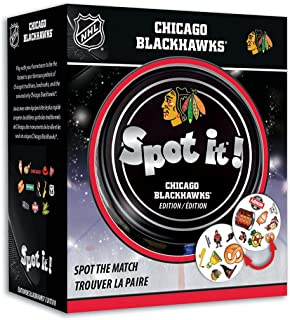 MasterPieces Chicago Blackhawks Spot It!, Multi, One Size, Model: 41767